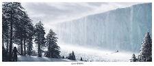 Game of Thrones North Of The Wall Mondo Art Print Poster Jon Snow JC Richard