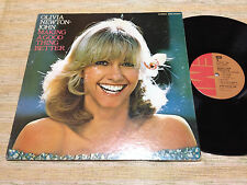 OLIVIA NEWTON JOHN-Making A Good Thing Better Japan LP
