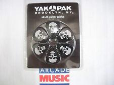 Yak Pak Coffret cadeau de 12 moyennes médiators crânes