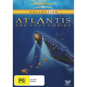 ATLANTIS: THE LOST EMPIRE - DISNEY COLLECTION - BRAND NEW & SEALED DVD