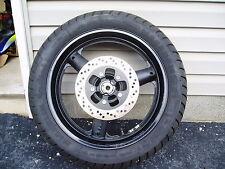 Suzuki Katana GSX 600 Stock Rear Wheel and Tire Rotor Sprocket