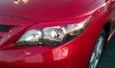 11-13 Corolla head light Eyelids -Pre-cut Red vehicle graphic overlays 8 colors