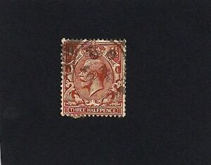 Great Britain Stamps George V 1924-1928  Three Halfpence (A)