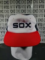 VINTAGE Chicago White Sox / 1983  Trucker Cap / Hat / SNAPBACK RED Cord