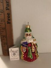 Christopher Radko Westminster Santa Christmas Ornament