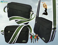 New Authentic LACOSTE Small Camera Shoulder Bag Casual 2.22 Black