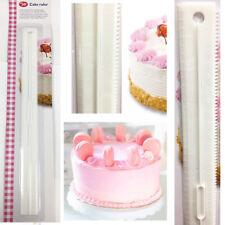 Cake Decorative Ruler Cake Leveler Scale Straight Wavy Pattern Cream Baking Tool