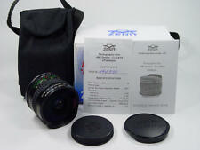 Lens MC Zenitar-C 2.8 16mm Fish Eye. Canon EF bayonet mount. Kit. s/n 142330.