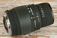 CLEAN Canon EOS fit Sigma 70 300mm AF Zoom Macro 1:2 DG for ALL EF EF-S