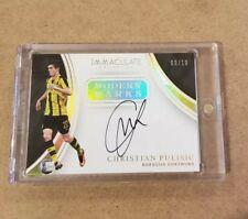 2017 Panini Immaculate Modern Marks Autograph Christian Pulisic 9/10 Dortmund