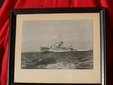 Orig Pre WW2 Photo WW2 Destroyer ANDERSON DD411 Coral Sea Midway Guadacanal More