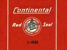 CONTINENTAL Red Seal L-HEAD 4 & 6 Cyl. ENGINE MANUAL F124 F140 F162 N62 Y69 Y91