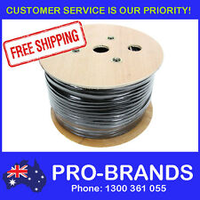 100m 4 Core 1.5mm OFC Audio Speaker Cable PA Wire Lead Cord Reel Roll 100 Metre