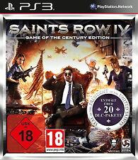 Sony PS3 Saints Row IV 4 GOTY Century Edition USK18 komplett deutsch Open World