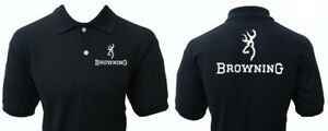 Browning Gun Weapon Polo Shirt
