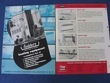 1950s Convector Radiator Cover Grills Catalog 4 Lot Fedders Hendrick Streamliner