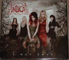 INDICA  A WAY AWAY CD Album  DVD Bonus Limited Deluxe Edition Female Rock Metal