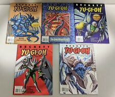 Five Beckett Yu Gi Oh Collector, Unofficial Collector And Scrapbook Magazines