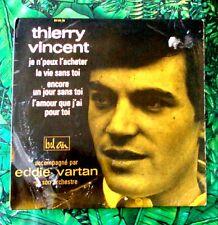 """Thierry Vincent–Je N'peux L'acheter    vinilo Single 7"""" 45 rpm EP 1964"""