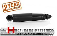 2 NEW REAR GAS SHOCK ABSORBERS FOR WV TRANSPORTER IV T4 2003 ///GH-334711///