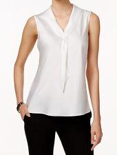 Tahari ASL New Sleeveless Tie-Neck Blouse Size XL MSRP $56 #R 41 (XL)