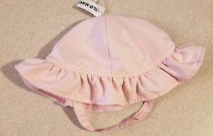 Old Navy Infant Girls 12-18 18-24 MONTHS Swim Hat PINK Sun Beach Pool #104918