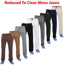 New Men Designer Jacksouth Regular Fit Trousers Cotton Rich Stretch Twill Chinos
