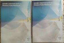 Adobe CS3 Production Premium Windows (PhotoShop Flash After Effects Premiere etc