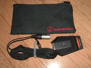 Audio-Technica unidirectional condenser desk-top microphone AT891R