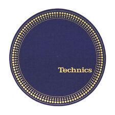 Slipmats Technics Strobo Blau / Gold (1 Stück / 1 Piece) NEU+OVP!