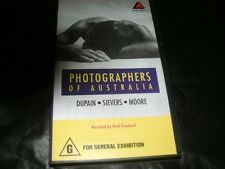 PHOTOGRAPHERS OF AUSTRALIA DUPAIN SIEVER MOORE~ GREAT AUSSIE FILM VHS PAL VIDEO~