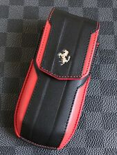 Genuine Vertu Ascent X Ferrari GT Red and Black Leather Extremely RARE 2011 WW