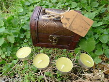 EARTH ELEMENT GREEN 12 CANDLE SET CHEST SET kit pagan ritual spell wealth money