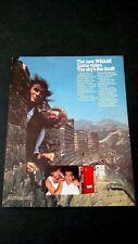 "GEORGE MICHAEL  ""WHAM IN CHINA""  (1986) RARE ORIGINAL PRINT PROMO POSTER AD"