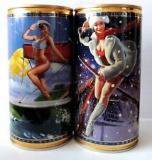 EMPTY CANS! Zhiguli #28 & #29 two beer cans 2020 Bottom Open! 900 ml (90 cl)