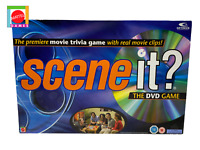 SCENE IT? The DVD Game by Mattel Games. The Movie Trivia Game.  -Complete-