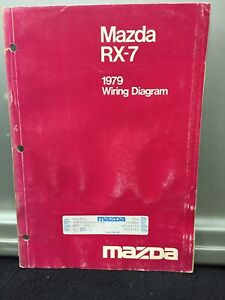 Repair Manuals Literature For Mazda Rx 7 For Sale Ebay