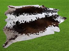 "New Cowhide Rugs Area Cow Skin Leather 30.19 sq.feet (69""x63"") Cow hide U-7029"