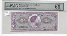 MPC Series 651  10 Dollars  PMG  66EPQ   GEM UNC
