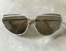 RODENSTOCK AUTHENTIC VINTAGE 80s SUNGLASSES #1937 WHITE/GOLD FRAME MADE GERMANY