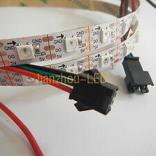 1M WS2812B IC 5050SMD RGB 60 LED Strip Light Tape Individually Addressable NP 5V