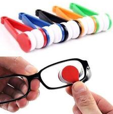 1PC Mini Glasses Eyeglass Sunglasses Spectacles Microfiber Cleaner Brush RANDOM