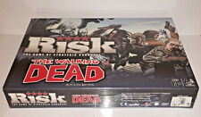 RISK BOARD GAME - THE WALKING DEAD - Game Of Strategic Conquest.Survival Edition