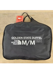 $135 The North Face Golden State Duffel Backpack Waterproof Medium Yellow/Black