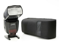 Canon 580 EXll Speedlight, little use, manuals, case, stand & original packaging