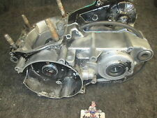 Honda CR250 1987 used genuine oem complete engine crankase set CR3216