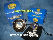 2 Golden State Warriors World Championship Replica ring 2015 2017 Champions SGA