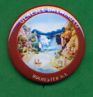 """Genesee Brewing STYLE  """"Lower Falls"""" Scene Beer Tray Ad RP *PIN* Utica N.Y."""