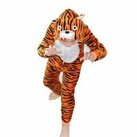 Kids Adult Animal Tiger one-piece pajamas Cosplay sleepwear Costumes Jumpsuit