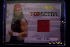 Rafael Nadal 2005 Ace Authentic Top Seeds ACP Match Worn Jersey Card